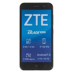 Смартфон ZTE Blade A520, синий