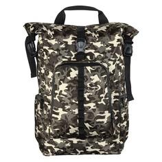 """Рюкзак 15.6"""" HAMA Roll-Top, камуфляж/коричневый [00101819]"""