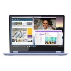 "Ноутбук-трансформер LENOVO Yoga 530-14IKB, 14"", Intel Pentium 4415U 2.3ГГц, 4Гб, 128Гб SSD, Intel HD Graphics 610, Windows 10, 81EK008TRU, синий"
