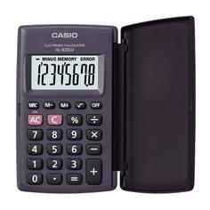 Калькулятор CASIO HL-820LV, 8-разрядный, черный