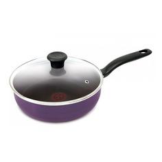 Сотейник TEFAL Cook Right 04166224, 2.5л, с крышкой, фиолетовый [9100023407]