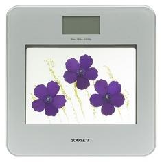 Напольные весы SCARLETT SC-BS33E002, до 180кг, цвет: фиолетовый [sc - bs33e002]
