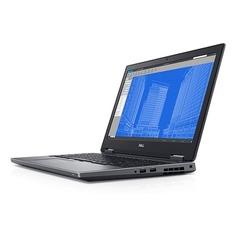 "Ноутбук DELL Precision 7530, 15.6"", Intel Core i9 8950HK 2.9ГГц, 16Гб, 512Гб SSD, nVidia Quadro P2000 - 4096 Мб, Windows 10 Professional, 7530-6962, черный"