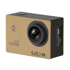 Экшн-камера SJCAM SJ4000 Wi-Fi 1080p, WiFi, золотистый [sj4000wifigold]