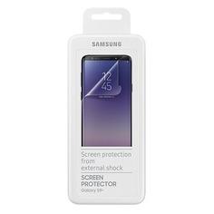 Защитная пленка для экрана SAMSUNG ET-FG965CTEGRU для Samsung Galaxy S9+, прозрачная, 2 шт