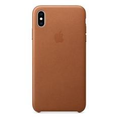 Чехол (клип-кейс) APPLE MRWV2ZM/A, для Apple iPhone XS Max, коричневый