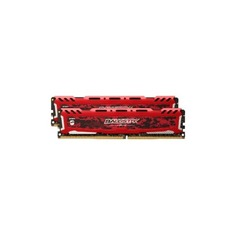 Модуль памяти CRUCIAL Ballistix Sport LT BLS2C16G4D240FSE DDR4 - 2x 16Гб 2400, DIMM, Ret