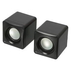 Колонки OKLICK OK-330, 2.0, черный [hs-01]