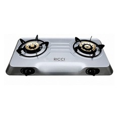 Газовая плита RICCI RGH-702C, нержавеющая сталь