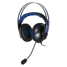 Наушники с микрофоном ASUS Cerberus V2, мониторы, синий / черный [90yh016b-b1ua00]