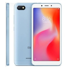 Смартфон XIAOMI Redmi 6A 16Gb, голубой