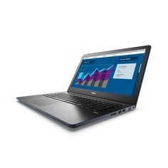 "Ноутбук DELL Vostro 5568, 15.6"", Intel Core i5 7200U 2.5ГГц, 8Гб, 256Гб SSD, Intel HD Graphics 620, Linux, 5568-8043, серый"