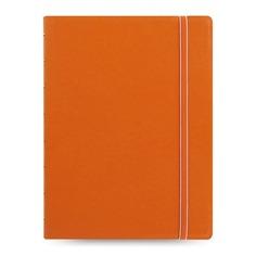 Тетрадь Filofax CLASSIC BRIGHT A5 PU 56л линейка съемные листы спираль двойная оранжевый