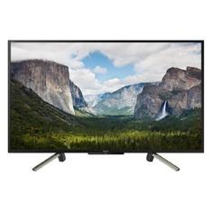 """LED телевизор SONY BRAVIA KDL43WF665BR """"R"""", 42.5"""", FULL HD (1080p), черный/ серебристый"""