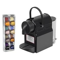 Капсульная кофеварка DELONGHI Nespresso Inissia EN 80.B, 1260Вт, цвет: черный [132191189] Delonghi