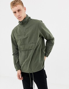 Oversize-куртка с капюшоном Another Influence - Зеленый