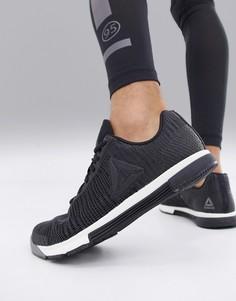 Черные кроссовки Reebok Training speed tr flexweave cn5500 - Черный