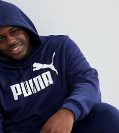 Темно-синий худи Puma PLUS Essentials 85174306 - Темно-синий
