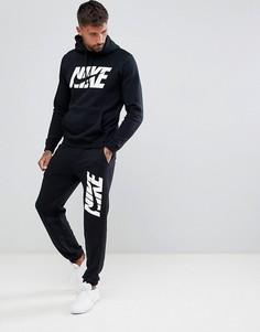 Черный спортивный костюм Nike AR1341-010 - Черный