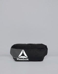 Черная сумка-кошелек на пояс Reebok Training DN1524 - Черный