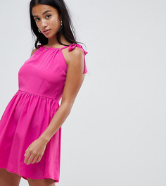 Платье с завязками на плечах Vero Moda Petite - Розовый