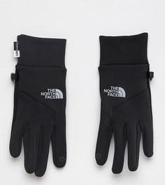 Черные перчатки с отделкой на кончиках пальцев для управления сенсорными гаджетами The North Face - Черный