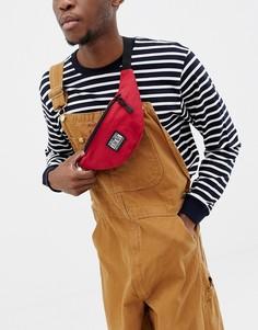 Красная сумка-кошелек на пояс с логотипом Globe - Красный