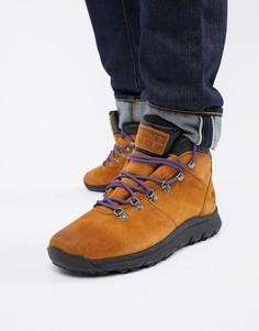 Коричневые походные ботинки Timberland World - Коричневый