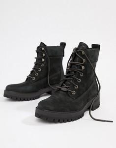 Ботинки со шнуровкой Timberland Courmayeur Valley - Черный