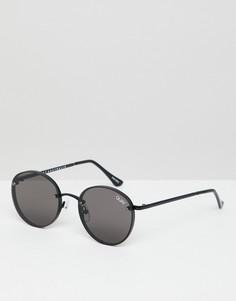 Черные круглые солнцезащитные очки Quay Australia X Elle Ferguson Farrah - Черный