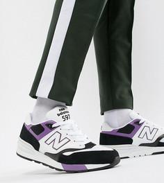 Белые кроссовки New Balance 597 Miami Brights эксклюзивно на ASOS - Белый