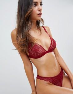 Кружевные стринги ASOS DESIGN Roxy - Красный