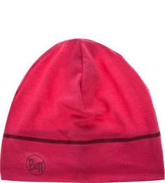 Шерстяная шапка цвета фуксии Buff