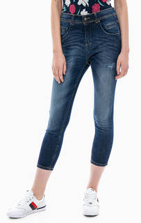 Укороченные джинсы зауженного кроя United Colors of Benetton
