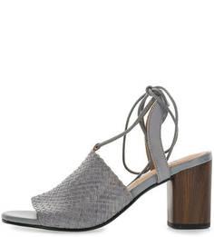 Кожаные босоножки на устойчивом каблуке Carol Vagabond