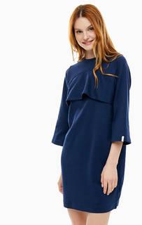 Короткое платье из хлопка Lacoste