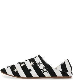 Текстильные туфли с металлическим декором Colors of California