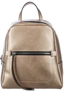 Рюкзак из сафьяновой кожи с одним отделом Gianni Chiarini