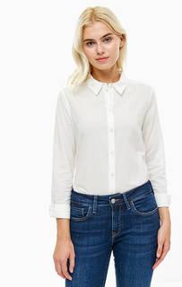 Хлопковая рубашка на пуговицах Vero Moda