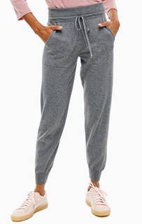 Серые хлопковые брюки джоггеры United Colors of Benetton