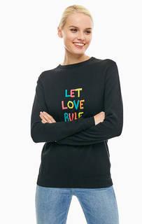 Джемпер черного цвета с длинными рукавами Sugarhill Boutique