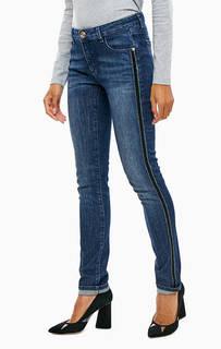 Синие джинсы скинни 260 Trussardi Jeans