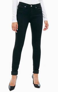 Черные джинсы со средней посадкой Calvin Klein