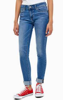 Синие джинсы 711 Skinny Levis