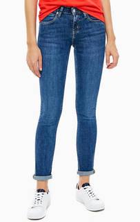 Зауженные джинсы с низкой посадкой Calvin Klein