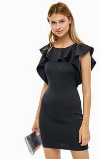 Короткое платье черного цвета Guess
