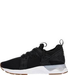 Текстильные кроссовки черного цвета Asics