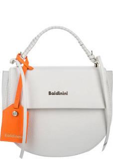 Кожаная сумка с откидным клапаном Baldinini