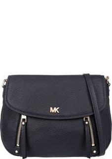 Кожаная сумка с карманами Evie Michael Kors