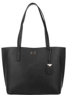 Вместительная сумка из зерненой кожи Ana Michael Kors